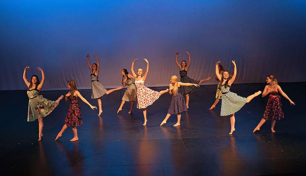 Dancing through time: Theatrical dance students perform ...