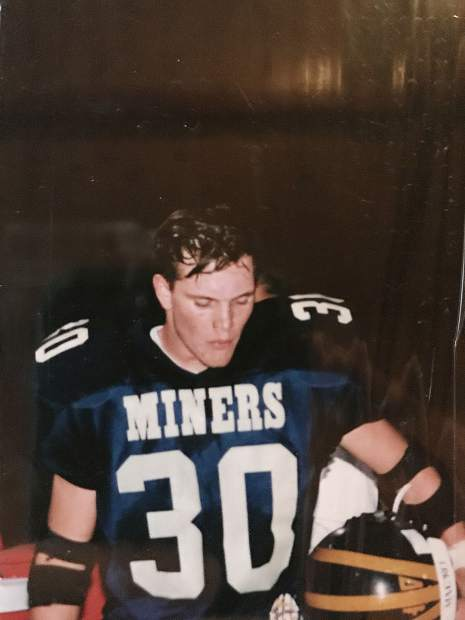As a senior, Brian Dwyer rushed for 1,385 yards, averaged 8.2 yards per carry and scored 20 touchdowns on offense. On defense, he was a standout safety and notched three interceptions. He would lead the Miners to a 9-1 record that year, be named the Offensive MVP of the Capital Athletic League, earn a spot on the Optimist All-Star Team and was the co-winner of the Jim Brown Award, which goes to Nevada Union's football MVP.