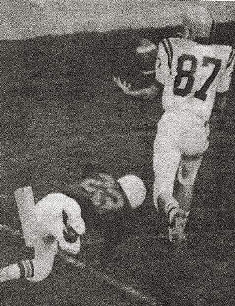 Pete Phelan was a standout athlete in football, basketball, tennis and track during his time at Nevada Union. He will be inducted into the Nevada Union Athletics Hall of Fame Saturday.
