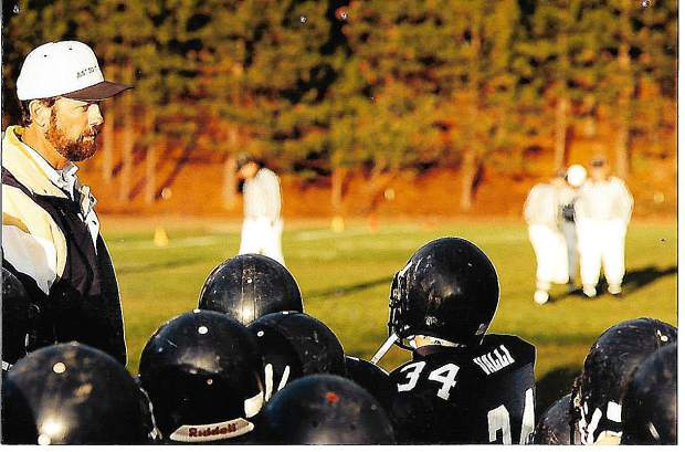 Gary Sharpe coached junior varsity and freshman football at Nevada Union for 36 years (1974-2010). He collected an overall record of 311-37, won 24 league championships, had 13 perfect seasons and put together a 14-year long, 97-game winning streak against league opponents.