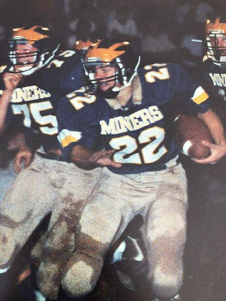 Across his three years on the Nevada Union varsity football team, Tim Trokey rushed for 2,913 yards, an NU record at the time, scored 51 total touchdowns, earned all-league honors three times and was the league MVP in 1989. During his time on the varsity team, the Miners went 33-6-1 overall, never lost a league game, made the playoffs all three years and reached the section title game twice.