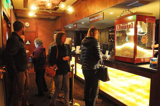 The revived Onyx Theatre, formerly the Magic Theatre, had its grand reopening Thursday evening from 3 to 6 p.m. with popcorn and tours of the venue's two screen rooms.
