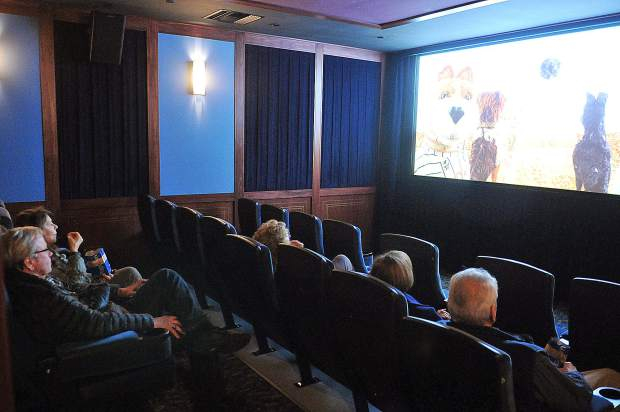 The Onyx Theatre now has two screening rooms, one more than the previous Magic Theatre. The seats are comfortable and recline.