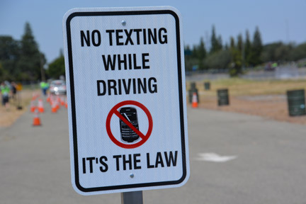 Texting while driving can be just as dangerous as driving under the influence.