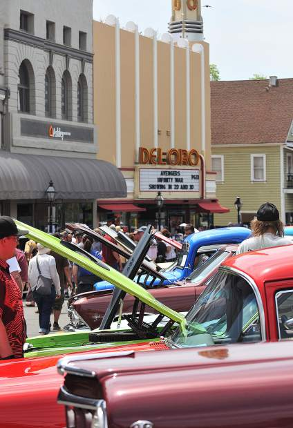 One of Nevada County's largest annual car shows, the Downtown Grass Valley Car Show, did not disappoint this year with over 300 colorful classic automobiles.