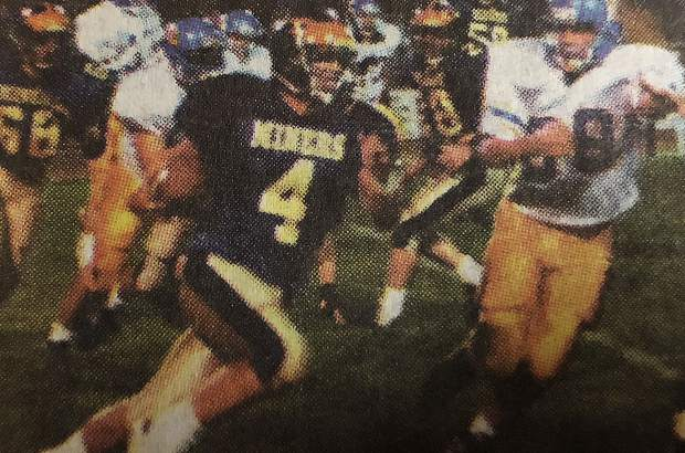 During Isaac Ostrom's senior season, he rushed for then records in yards for a season (1,731) and touchdowns in a season (21). That year he was named the Capital Athletic League Offensive MVP, was named to the All-Metro Second Team and won the Jim Brown Award, which goes to NU's MVP.