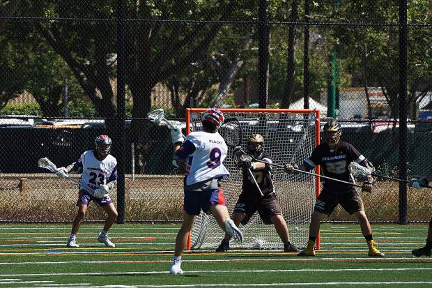The Gold Country Stampede held the high scoring Pleasant Grove Eagles to just five goals in a 19-5 win Saturday. The Stampede will now face Napa in the Northern California Junior Lacrosse Association Championship game Sunday.
