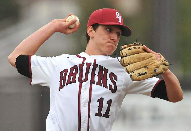 Bear River starting pitcher Clay Corippo has been a standout on teh mound all season. Corippo and teh rest of the Bruins will open postseason play at home Thursday.