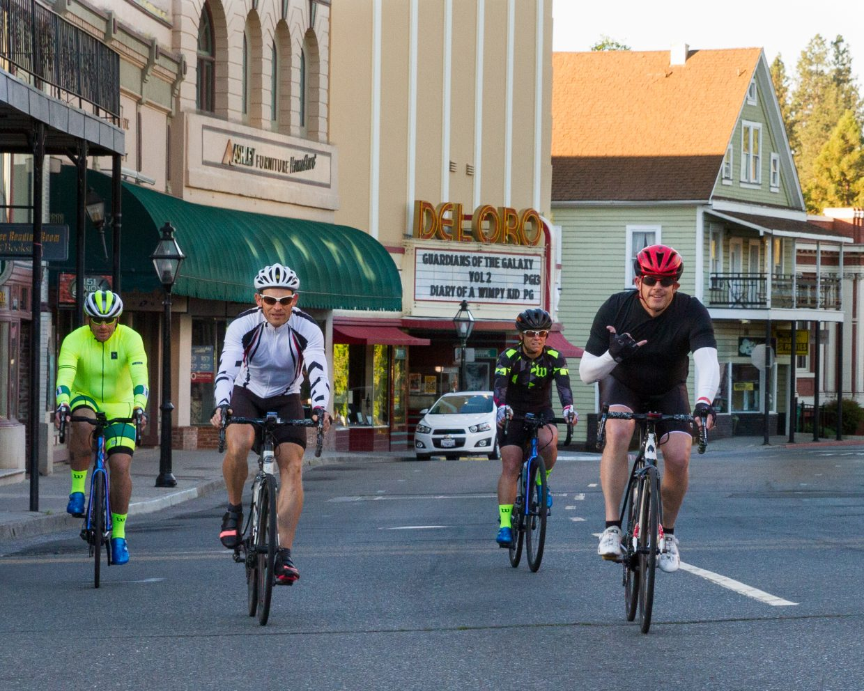 Ride through town and country at the Rotary Gold Country Challenge.  Photo submitted by Bob Long