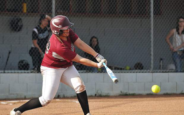 Bear River sophomore Justice Lewis, a second year starter at catcher, batted .353 with two home runs and 18 RBIs.