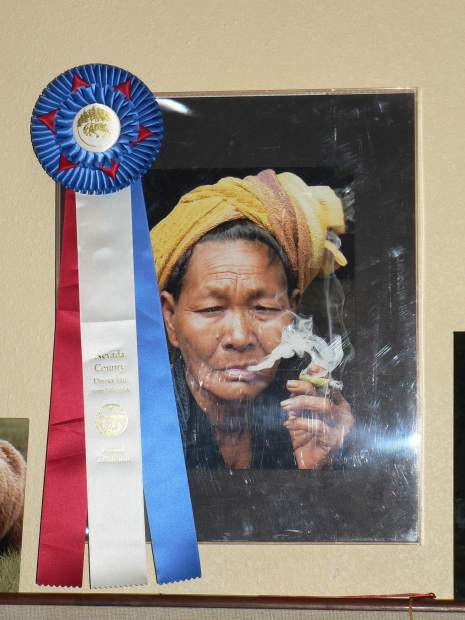 One of Ed Sylvester's photographs won Best of Show at the Nevada County Fair