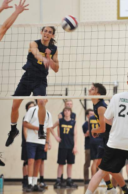 Nevada Union's Nick Ashbaugh was named to the 2018 All-Sierra Foothill League First Team.