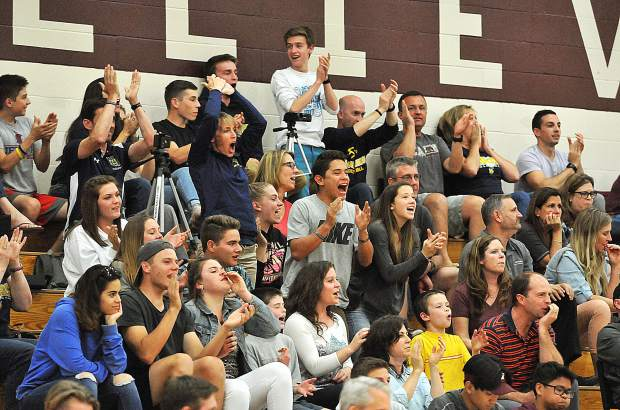 The Nevada Union Miner faithful made the trip to Whitney High School in Rocklin to support the boys volleyball team as they competed against the Whitney Wildcats.