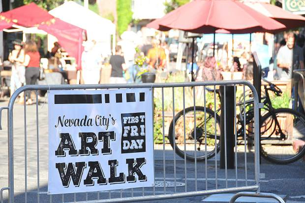 Nevada City's two remaining art walks will take place the first Fridays of July and August.