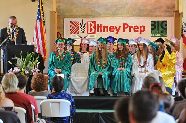 Bitney Prep and Forest Charter both held commencement ceremonies Friday, marking the beginning of a week full of pomp and circumstance in Nevada County.
