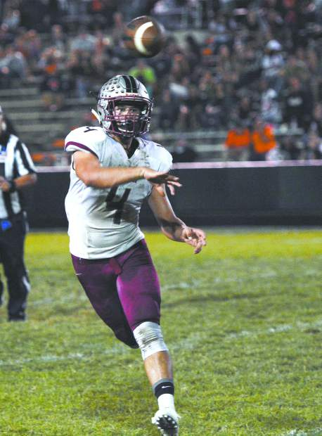 Bear River's Luke Baggett led the Bruins football team to a Sac-Joaquin Section Division V Championship, earning a plethora of accolades along the way. The senior was also an all-league golfer. For his efforts, Baggett has been named The Union's 2017-18 Male Prep Athlete of the Year.