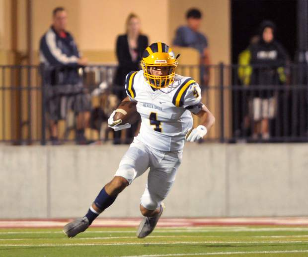 Nevada Union running back Isreal Gonzales has emerged as a playmaker for the Miners, scoring on long passing touchdowns against Placer and Lincoln and coming through with a long run to clinch the victory over Napa.