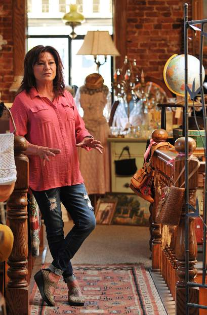 Vintage on Main owner Susan Escano describes the criteria she considers before accepting pieces for her downtown Grass Valley antique store. Escano's regular customers compliment her eye for gathering finds and enjoy adding pieces to their own collections.