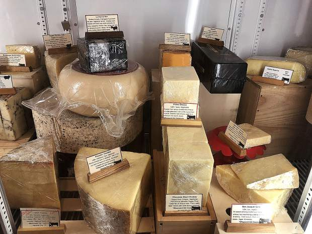 Wheyward Girl Creamery in Nevada City boasts a broad range of traditional artisanal cheeses produced by hand from around the world.