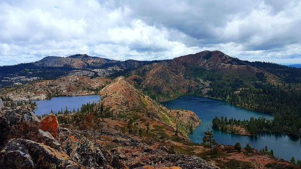 Penner and Culbertson Lakes in the Grouse Ridge area.