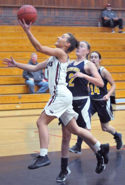 Katelyn Meylor leads Bear River in points (15.5 per game) and steals (5.5 per game) this season.