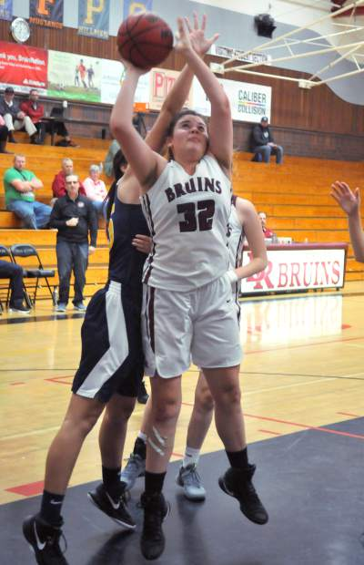 Bear River's Mallory Rath dirves to the basket for a shot during a recent game.