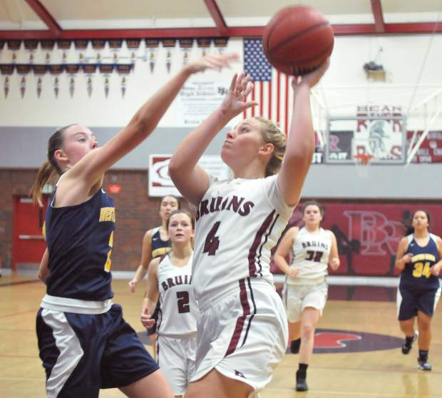 Bear River's Kylee Dresbach-Hill was named to the All-PVL Second Team.