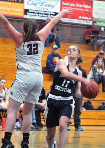 Amber Jackson and the rest of the Forest Lake Christian girls basketball team is off to an impressive start to league play, going 4-0 against their Central Valley California League opponents.