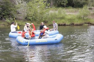 Lack of water temporarily grounds Truckee rafting companies