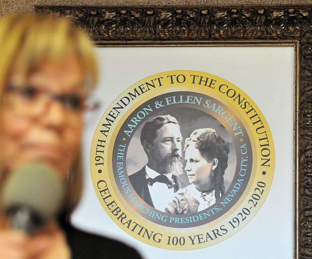 A seal has been created to commemorate the upcoming 100th anniversary of the 19th amendment.