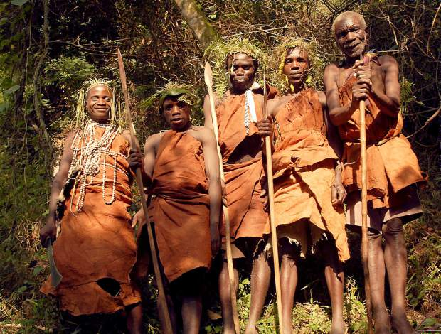 Batwa pygmies have been the recipient of Nevada County's generosity through the creation of the Bwindi Community Hospital, founded by Scott Kellermann.