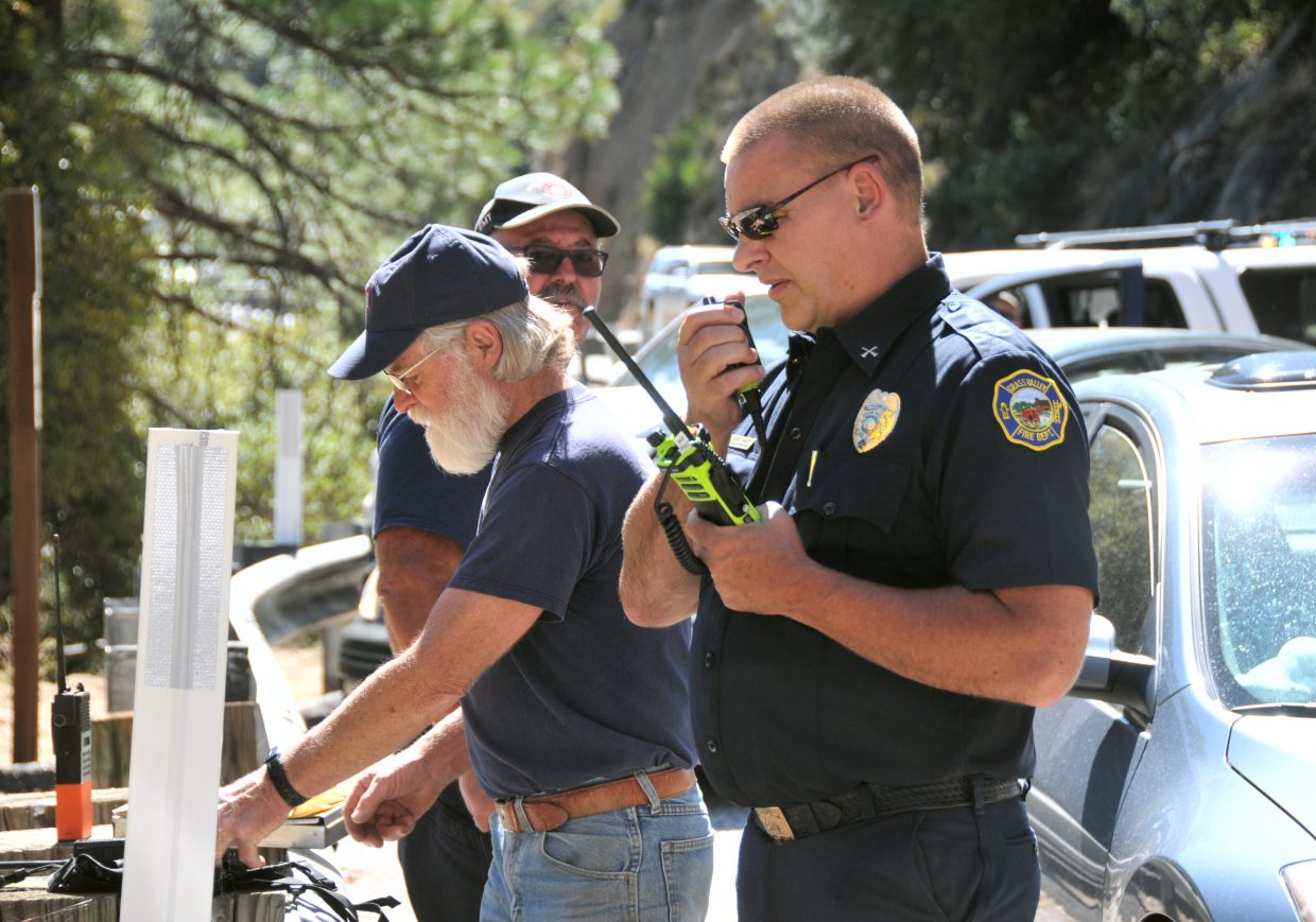 Grass Valley, North San Juan, Nevada City, and Cal Fire firefighters aided in the rescue and recovery efforts of Tuesday's drowning on the South Yuba River.