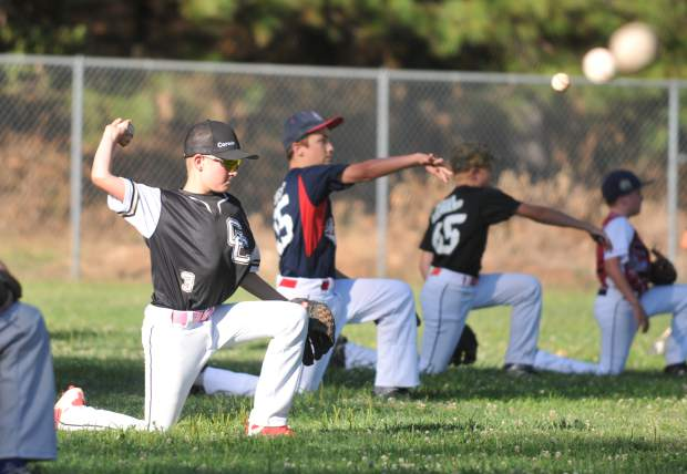 Across two days, about 100 local youth participated in the free Sierra Nevada Elite Baseball Academy camp held at Nevada Union High School this week.