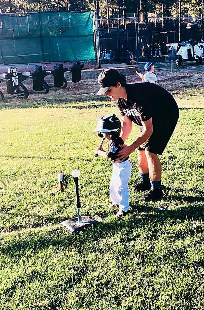 Aabout 100 local youth participated in the free Sierra Nevada Elite Baseball Academy's two-day camp held at Nevada Union High School this week.
