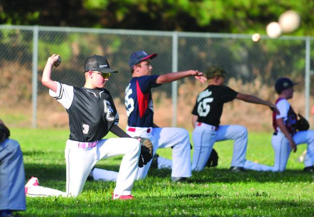 About 100 local youth participated in the free Sierra Nevada Elite Baseball Academy camp held at Nevada Union High School this week.