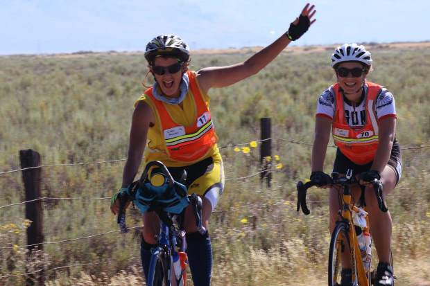 Carol Douglass and Ruth Welch both topped 300 miles in the 2017 Agony Ride, two of only 12 women to have done so in the history of the ride.