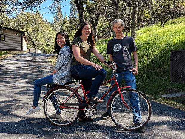 Zoya Lee, Sharon MacLean, and Tom Kern are the three Christian Encounter Ministries staff members riding in the 2018 Agony Ride.