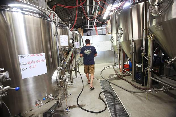 Brewing equipment from Grass Valley stainless steel manufacturer Brew Bilt, fills the new Nevada County brewery located in downtown Grass Valley.