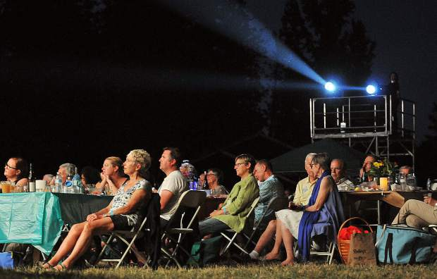 Summerfest attendees enjoyed a night of Bernstein and Gershwin compositions under the pines and stars of the Nevada County Fairgrounds Saturday night. The Summerfest concert series wraps up tonight with the pops concert.