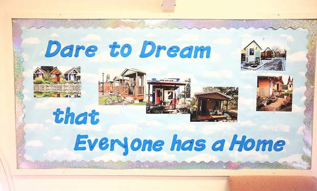 Sierra Roots' Dare to Dream program strives to provide housing first for area homeless, and the desire to have a tiny home community for them.