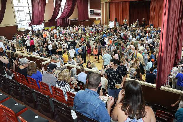Veterans Memorial Hall was packed with more than 600 patrons looking to get a taste of what the county has to offer from, restaurants, pubs, breweries and wineries.
