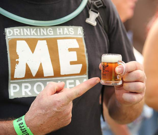 Many 2018 BrewFest attendees had a lot to say about the small mugs that were given to them, saying that it required people to stand in line longer, and for breweries to work harder.