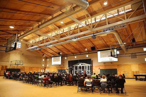The Stephen S. Ball Conference Center was unveiled by the Salvation Army Saturday at Camp Del Oro on Lake Vera.