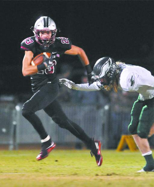 Bear River's Calder Kunde is an impressive athlete with a combonation speed and agility few others have.