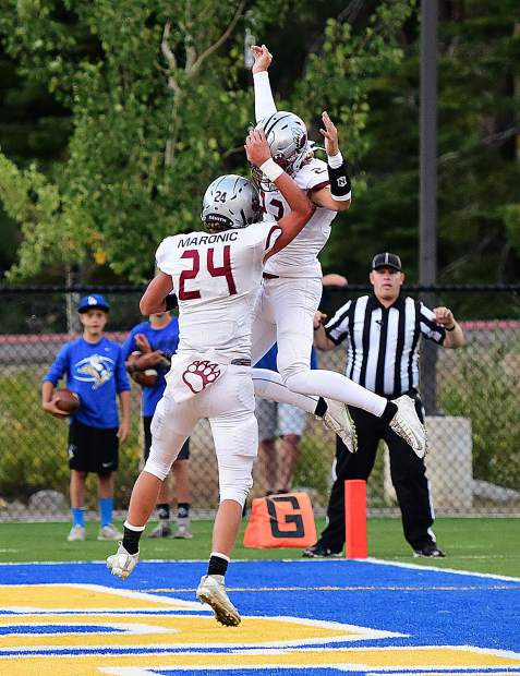 Bear River dominated its matchup with South Tahoe on Friday, topping the Vikings, 50-3, in the season opener for both teams.