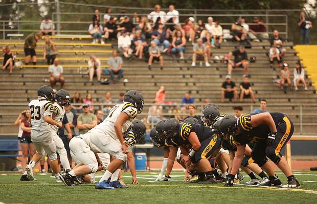The miners got back to the gridiron Friday during the blue and gold Meet Your Miners scrimmage.
