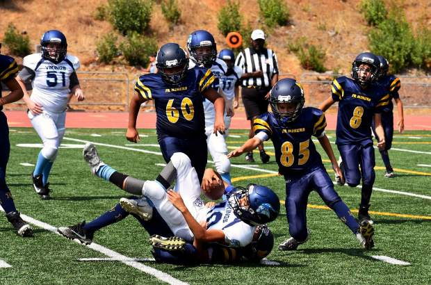 YOUTH FOOTBALL: Jr  Miners open season with hard-fought