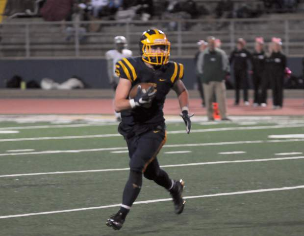 Tyler Nielson was a three-year varsity starter who earned All-Sierra Foothill League honors in his junior and senior seasons with Nevada Union. During his time with the Nevada Union varsity football team he rushed for 1,854 yards and scored 24 total touchdowns.