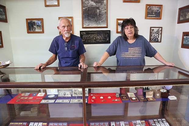 John Englehardt and Pat Sisler run Sierra Gold and Coin in downtown Grass Valley. They're experts in foreign and domestic coins and money as well as deal a lot of gold and silver.