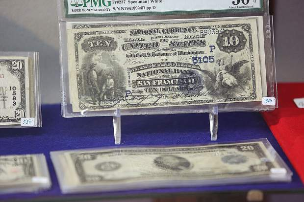 Late 1800s and early 1900s paper currency from the United States, are referred to as